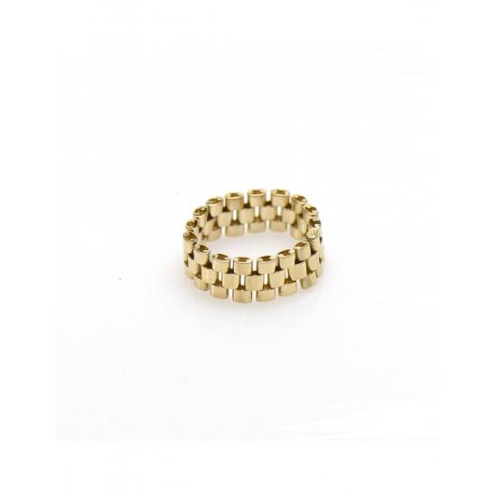 Gouden Rolex ring (flexibel) - 602189