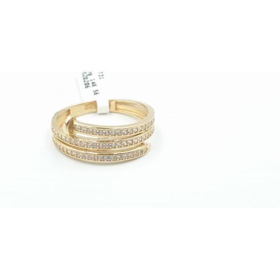 14 karaat gouden ring - 601731